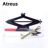 Atreus 3 Tons Car Styling Wind Up Lift Crank Speed Handle Emergency For VW Polo Passat