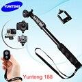Para gopro go pro hero4/3/2 xiaomi sjcam yunteng 188 portátil selfie extensible telescópica handheld palillo monopod para la cámara de dslr