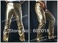 Mj Michael Jackson History BAD clássico de ouro calças calças frete grátis para presente desempenho