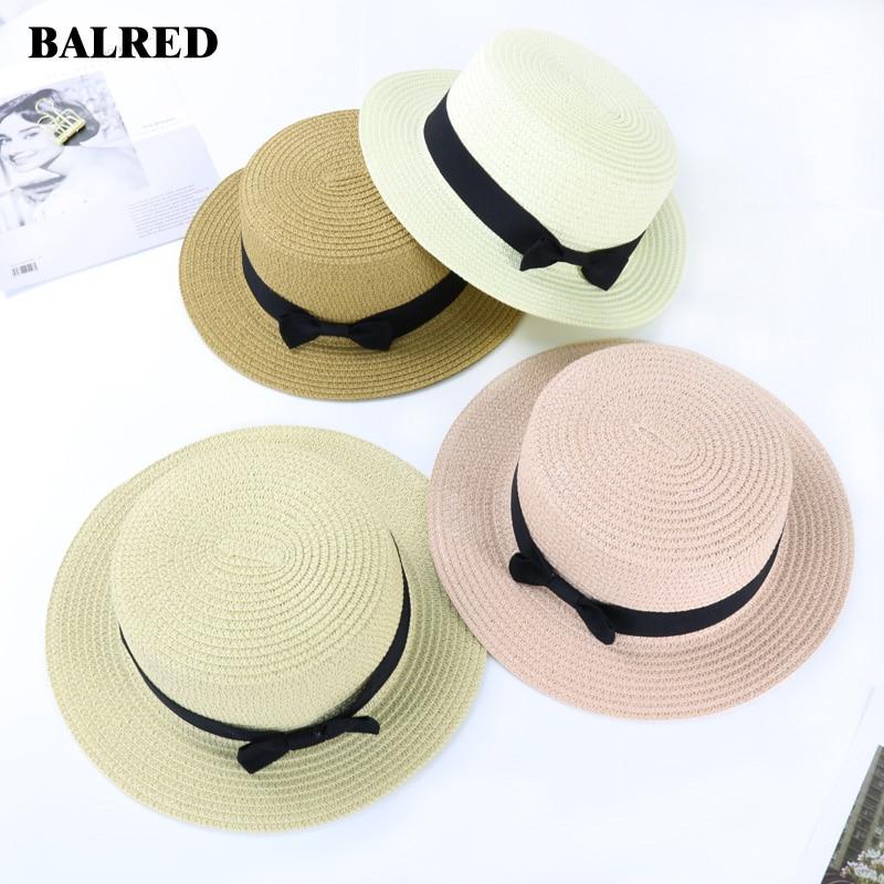 Women Summer Beach Hat Sun Hats Pop Straw Cap Gorra Hombre For Streetwear Caps Parent-Child Chapeau Femme Ete Handmade Sombrero