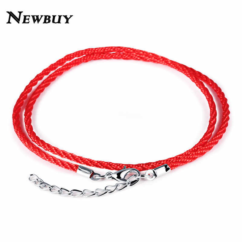 NEWBUY 2018 Trendy Double Layer Red Rope Bracelets For Women Girl Children Adjustable Hot Fashion Female Daily Accessories