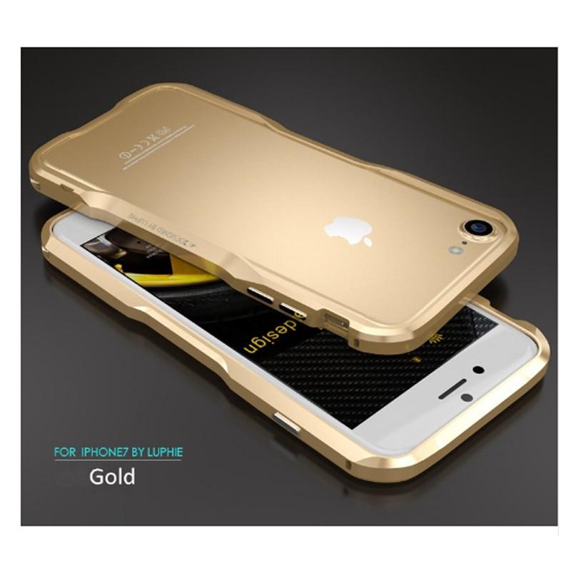 Für iPhone 7 6s Luphie schlanke Metall Telefon Stoßstange Hülle - Handy-Zubehör und Ersatzteile - Foto 4