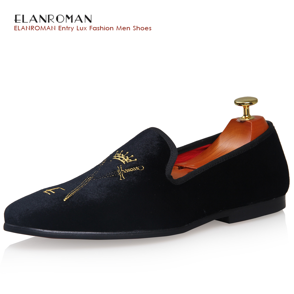 new crown design men loafers luxury brand trendy flat footwear male velvet oxford shoes pigskin lined men quality dress shoes loafers men india golden silk weaving pattern crown and leaf design flats velvet shoes men loafers noble temperament