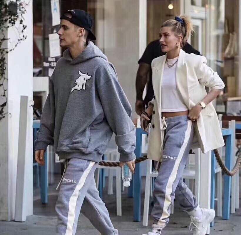 2019SS TOP High Street Hip-hop Justin Bieber FOG Style Essentials Sweatpants Men Women Drawstring Tracksuit Joggers Pants 5color