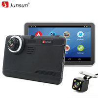 Junsun 7 Inch Car DVR Camera GPS Navigation Android WIFI Tablet Pc Full HD 1080p Car