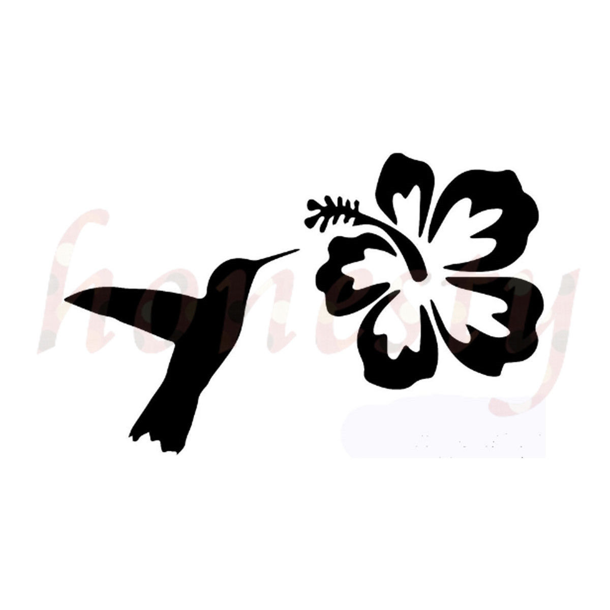 Hummingbird hibiscus flower car stickers glass laptop truck door hummingbird hibiscus flower car stickers glass laptop truck door window pc decal in car stickers from automobiles motorcycles on aliexpress alibaba izmirmasajfo