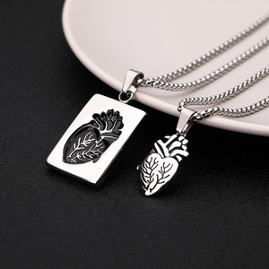Puzzle Jewelry Couple Collares