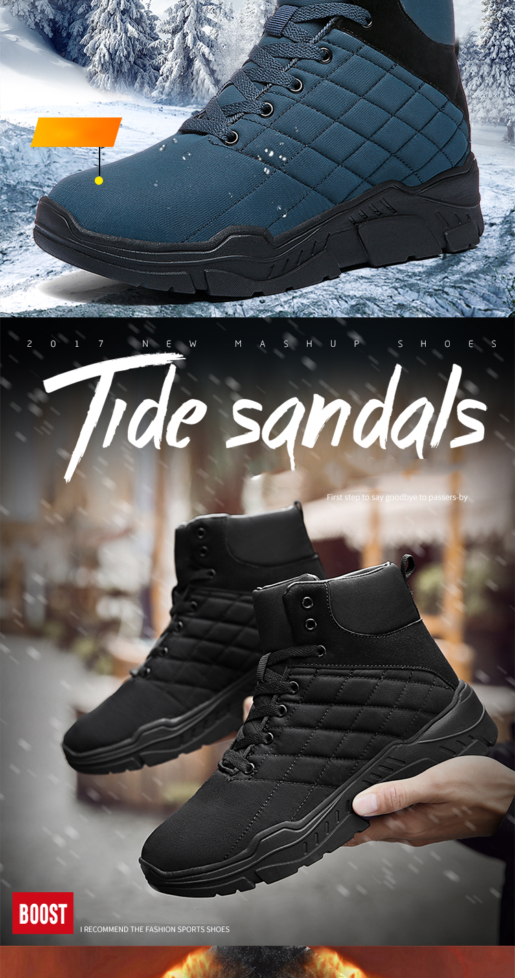 b1f300eebe6 Shoes - 2018 Men's New Stylish Warm Snow Boots(Buy 2 Got 5% off, 3 Got 10%  off Now)