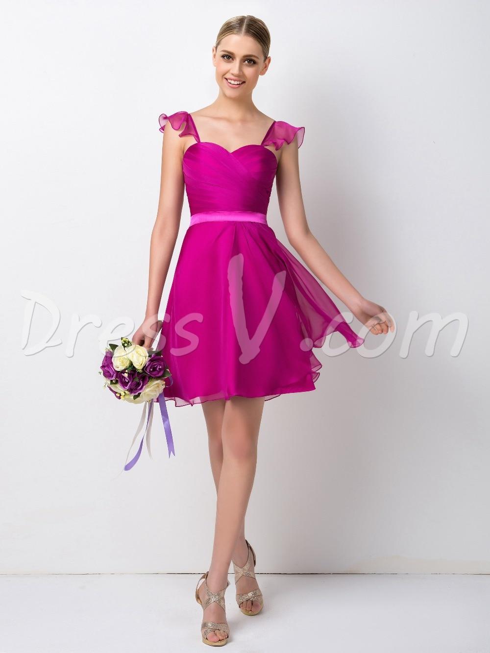 Increíble Vestidos De Dama De Menores Foto - Colección de Vestidos ...
