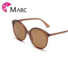 MARC 100%UV400 WOMEN MEN 2018NEW Brand Transparent Eyewear Shield Wrap Design Fashion Trendy Sunglasses Gafas Oculos Resin