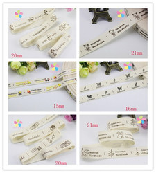 Multi option hand made design printed cotton ribbon diy sewing packing accessories 040056110.jpg 250x250