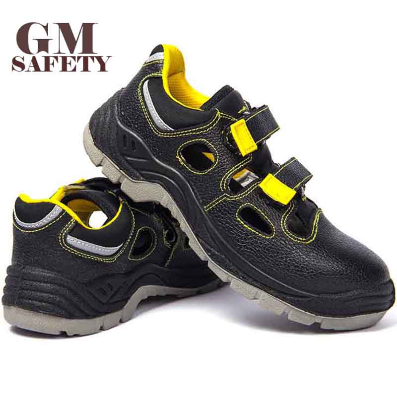 GM Summer Safety Shoes Soft Non-slip Anti-smashing Breathable Protection Labor Work Outdoor Casual Shoes GM2023