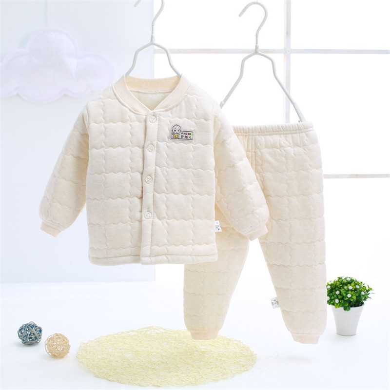 2017 New Spring Autumn Baby Clothing Set Pants T-shirt Cotton Baby Girl Clothes Kids Infant Newborn Girl Boy Clothes Sets SKB02 (4)