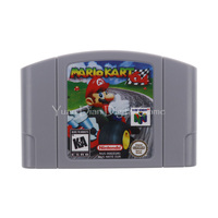 Nintendo N64 Video Game Cartridge Console Card Mario Kart 64 English Language EU Pal Version