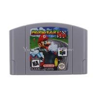 Nintendo N64 Video Game Cartridge Console Card Mario Kart 64 English Language EU Pal Version