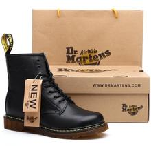 (High) 저 (quality 분할 가죽 Men Boots Brand Men 눈 Boots Winter Boot 퍼 Warm 편안한 Boots Dr 와 shoes 상자 ST324(China)