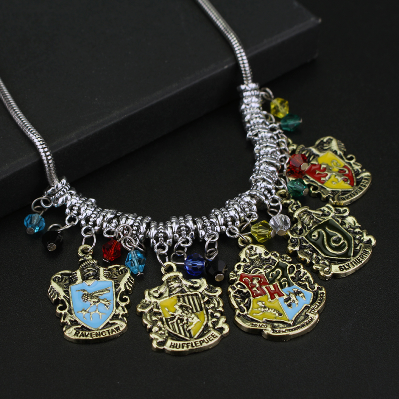Diy jewelry college logo hogwarts gryffindor hufflepuff slytherin diy jewelry college logo hogwarts gryffindor hufflepuff slytherin ravenctaw necklace pendants movie jewelry free shipping in pendant necklaces from mozeypictures Image collections