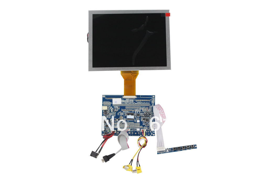 VGA +AV  TFT LCD driver  board support 8 inch LED modules us au standard touch wall switch 1 gang with crystal tempered glass panel and blue led backlight