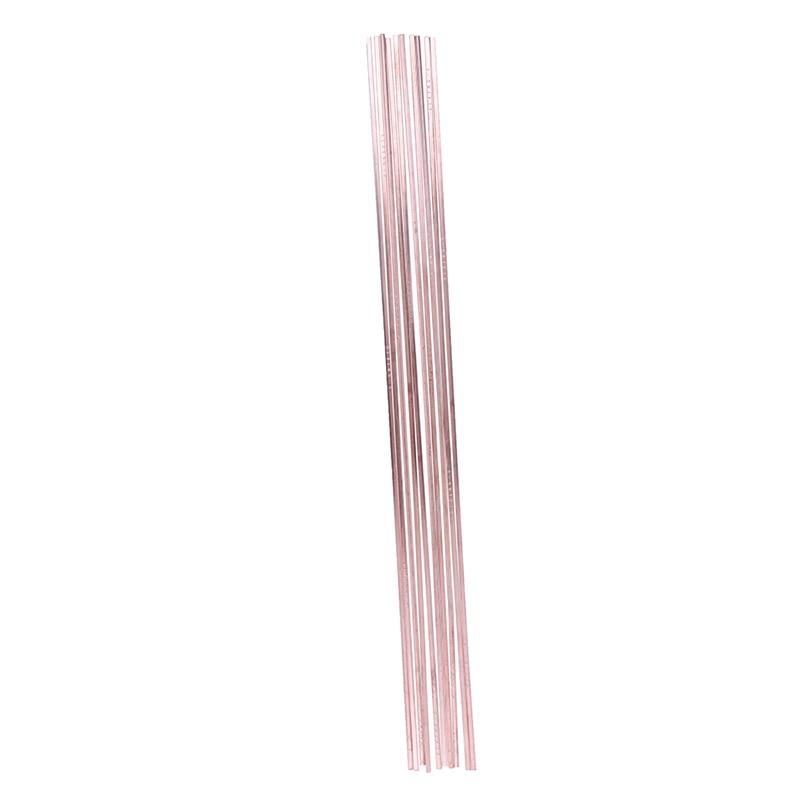 Горячая распродажа 10 шт. 3*1,3*400 мм низкотемпературные плоские паяльные стержни для Сварка, пайка для ремонта медного электрода