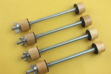 40ชิ้นเชลโล่C Lampsเครื่องมือยึดซ่อมติดกาวluthierเชลโล่ทำเครื่องมือ