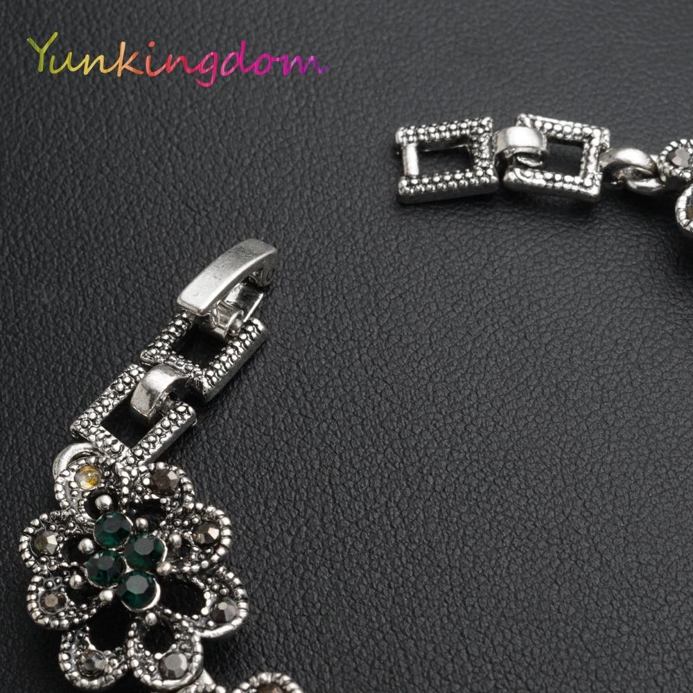Vintage Fashion Bangle Armbanden Gouden Kleur Armband Dames - Mode-sieraden - Foto 2