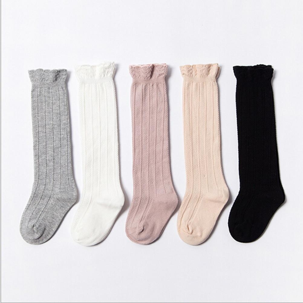 Toddler Knee High Lace Sock Long Girls Cute Leg Warmers Fox Socks For Newborns Infantile Autumn Baby Kid Socks For Girls Newborn