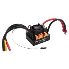 OCDAY мини Водонепроницаемый 120A бесщеточный ESC Электрический Скорость контроллер с 4 мм разъем банан 6,1 В/3A ЦМП для 1/8 RC автомобилей