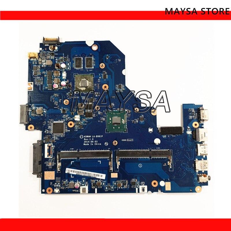 A5WAM LA-B981P Laptop Motherboard Fit For Acer aspire E5-511 E5-511G Main board with discrete graphicsA5WAM LA-B981P Laptop Motherboard Fit For Acer aspire E5-511 E5-511G Main board with discrete graphics