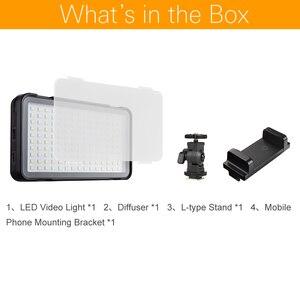 Image 2 - Godox LEDM150 5600 Karat Handy Led videoleuchte Helle panel mit eingebauten Batterie Akku (USB stromversorgung Lade)