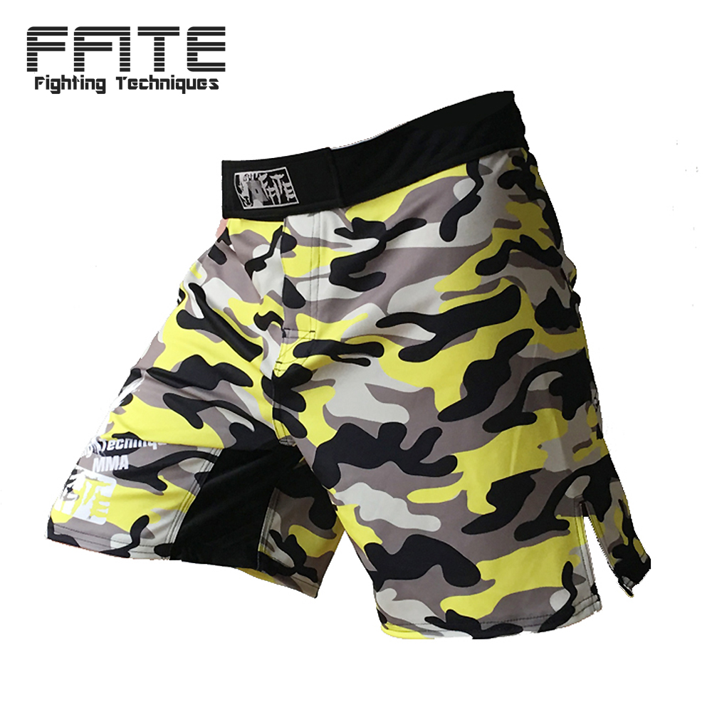 FFITE MMA boxing muay thai kickboxing fitness men shorts muay thai sanda boxe trunkks training sanda fight grappling pants
