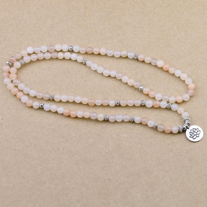 Pink Aventurine Mala Beads (6mm) 4