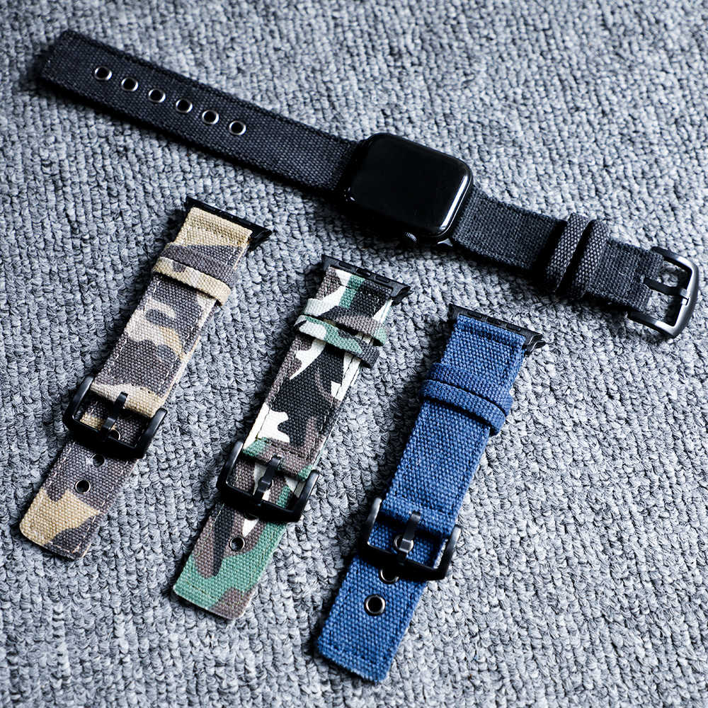 Sport nylon strap for apple watch 4 band 44mm/40mm apple watch strap 42mm/38mm iwatch series 4/3/2/1 correa bracelet watchband