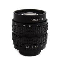 50mm F1.4 CCTV TV Movie lens+C NEX Mount for SONY E Mount NEX3 NEX6 NEX7 A6500 A6300 A6000 A5000