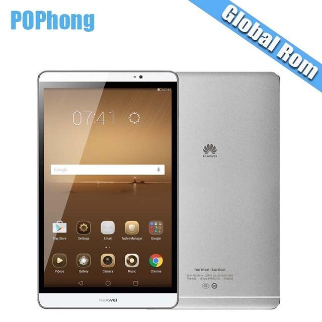 Глобальная прошивка 8.0 дюймов Huawei MediaPad m2 WI-FI/LTE Android Планшеты 3 ГБ Оперативная память 64 ГБ/32 ГБ встроенная память KIRIN 930 Octa Core 1920x1200 8MP N