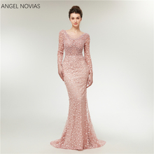 Angel Novias Mermaid Evening Dresses Prom Dress