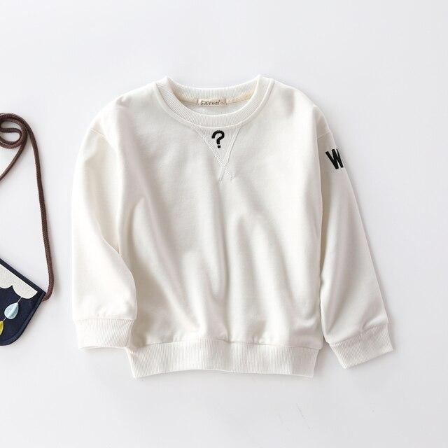 Мальчик и девочка весна одежда детская одежда повседневная флис мальчика ежедневно Футболки для девочек мода стиль футболка детская одежда