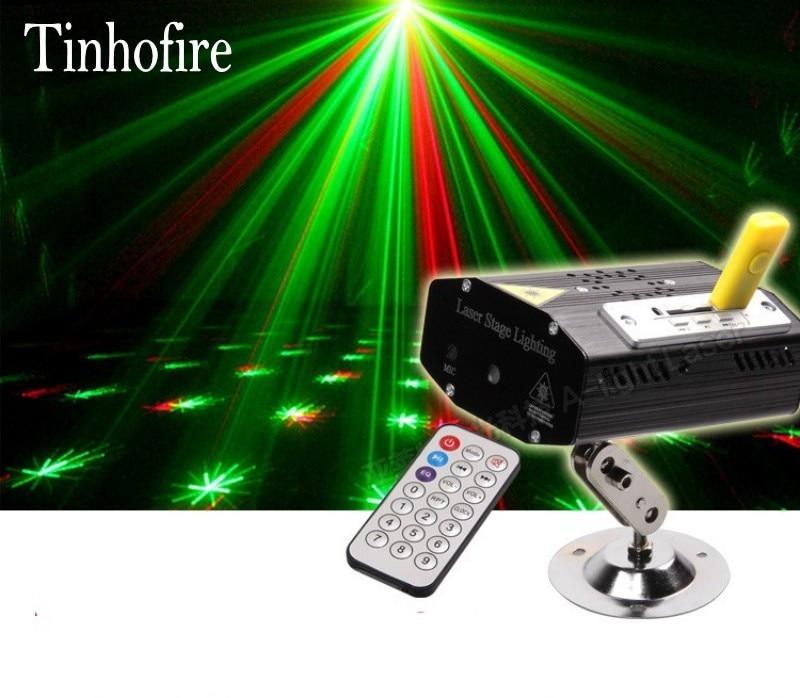 Tinhofire Remote Control MP3 Mini LED Stage Light L& Ru0026G Laser Projector Stage Lighting Sound Control DJ Disco Party KTV Light-in Stage Lighting Effect ...  sc 1 st  AliExpress.com & Tinhofire Remote Control MP3 Mini LED Stage Light Lamp Ru0026G Laser ... azcodes.com