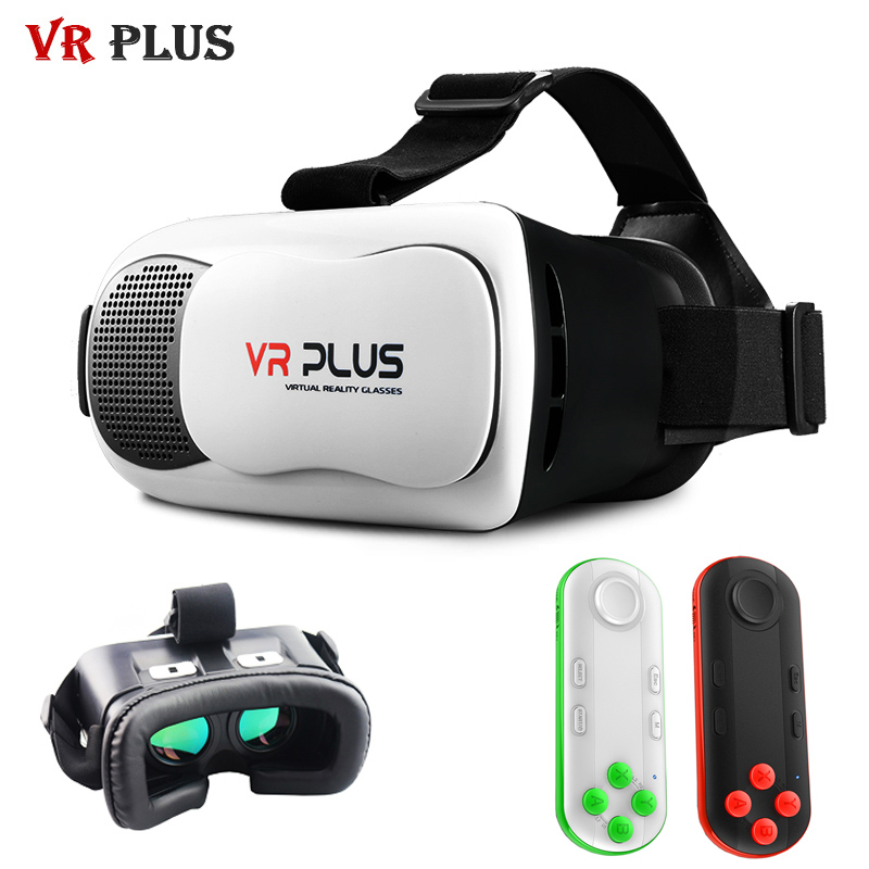 HD <font><b>VR</b></font> <font><b>Box</b></font> 3.0 <font><b>VR</b></font> Plus Leather <font><b>Helmet</b></font> <font><b>Virtual</b></font> <font><b>Reality</b></font> 3D Glasses vrbox Pro Coating Glass Lenses <font><b>Headset</b></font> for 4-6' Mobile Phone