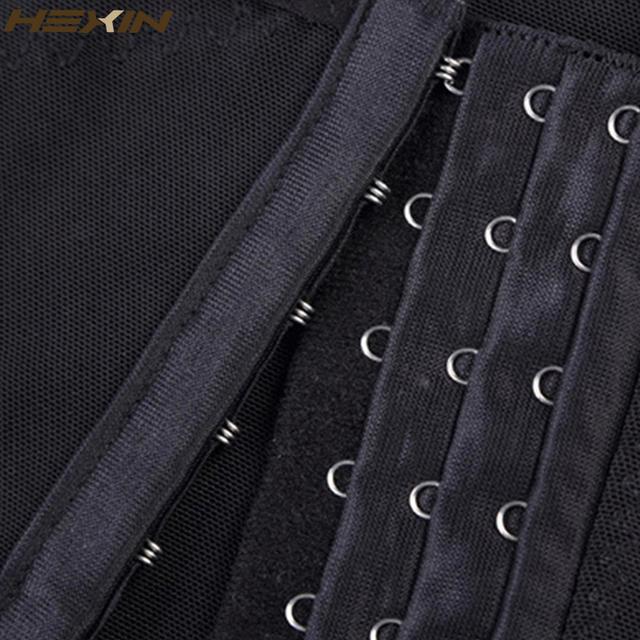 HEXIN Men Body Shaper Vest Waist Cincher And Tummy Control Slimming Belly Shaper Hot Abdomen Shaper Underwear Girdle Shapewear