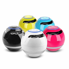 Heaton Rodada Portátil Sem Fio Bluetooth V3.0 Speaker + Tf Super Bass FM Handsfree com Microfone