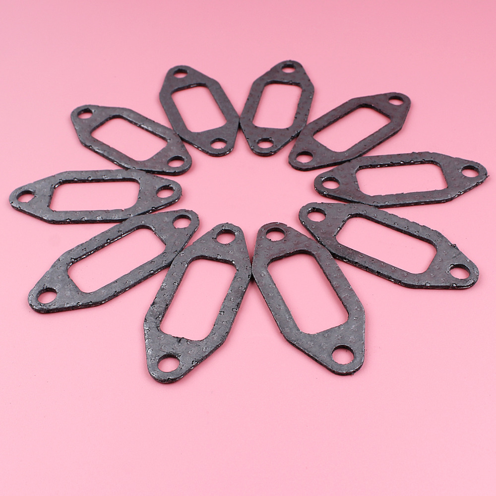 10pcs Exhaust Muffler Gasket For Husqvarna 362 365 371 372 Chainsaw Spare Part 503775901