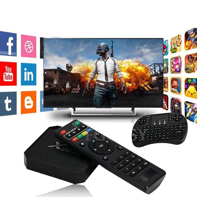Android 7.1 Amlogic S905W Quad Core 2.4GHz Smart TV Box