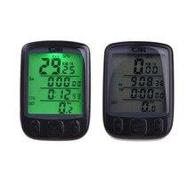 Digital Speedometer Odometer LCD Waterproof Bike Bicycle Cycling Computer Speed A2
