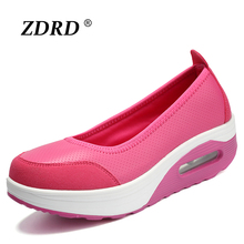 2016 Fashion High Quality Women Causal Shoes Fashion Flats Women Walking Shoes Outdoor Breathable Light Soft Flats For Women