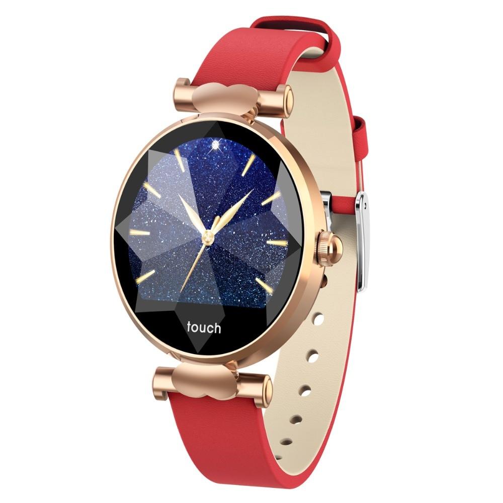 B80 mode femmes Bluetooth montre intelligente tension artérielle moniteur de fréquence cardiaque Smartwatch Reloj Inteligente pour Xiao Mi Android IOS