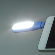 Mini Portable Self-Time LED Mengisi Lampu LED Flash Light Up Selfie Luminous Cincin Telepon untuk Android samsung Htc Lg Telepon(China)