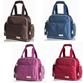 Free Shipping! 2014 Hot Sale 4 Colors Mummy Backpack Baby Diaper Bags With Large Capacity & Fashional Desig