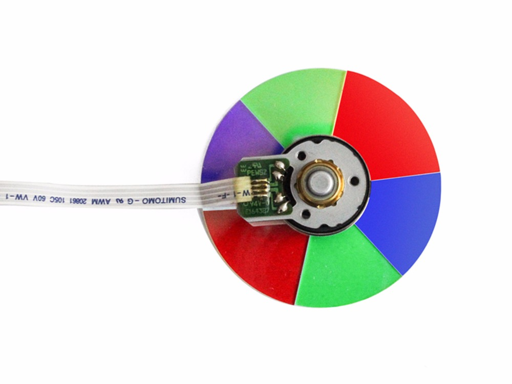 цена на (NEW) Original DLP Projector Colour Color Wheel Model For Benq  PE7700 color wheel