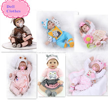 High End Design 55cm Reborn Baby Doll Clothes Hot Sell Christmas 22 Inch Baby Reborn Doll Clothes Best Christmas Gift For Babies