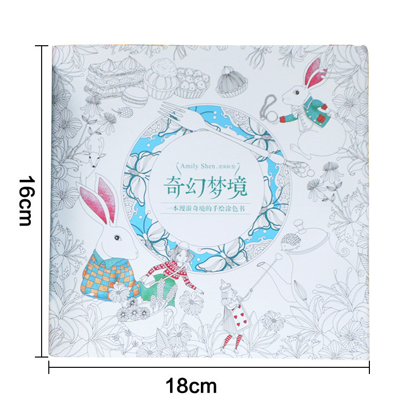Aliexpress Buy 24 Pages Fantasy Dream Secret Garden